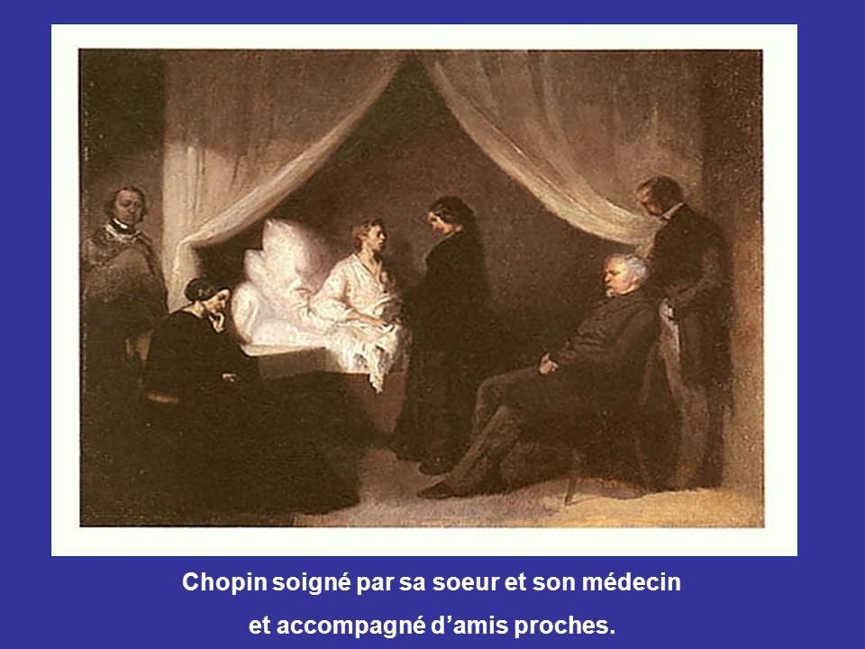 En 1847, Chopin donna des concerts en Angleterre et en Écosse avec Jane Stirling, alors même qu'il était sévèrement malade. Il retourna à Paris en 184