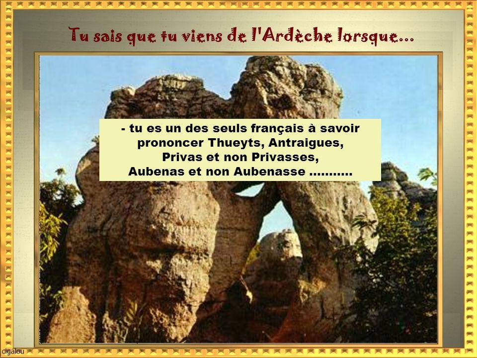 -tu sais qu il faut éviter les routes entre Ruoms et Vallon Pont d'Arc entre le 15 juin et le 15 septembre.