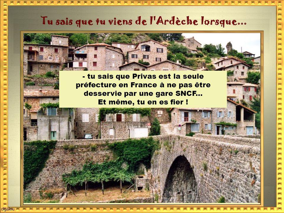 - tu sais que la Loire prend sa source au Mont Gerbier des Joncs.