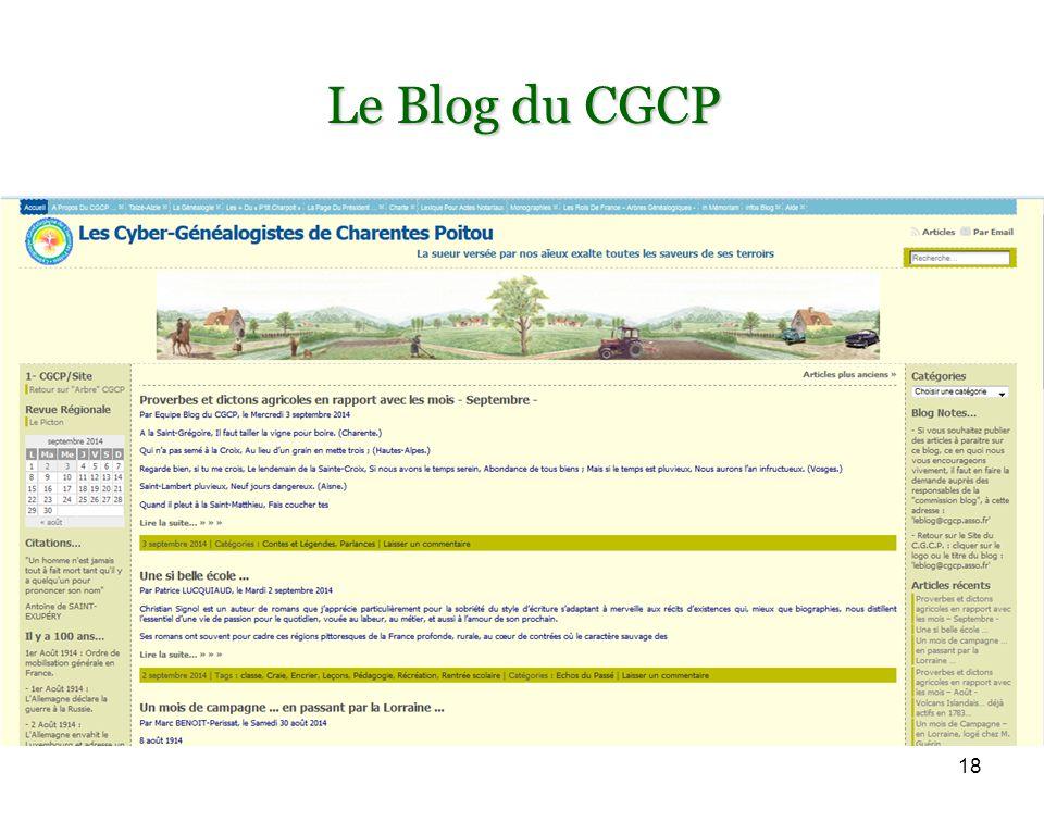 18 Le Blog du CGCP
