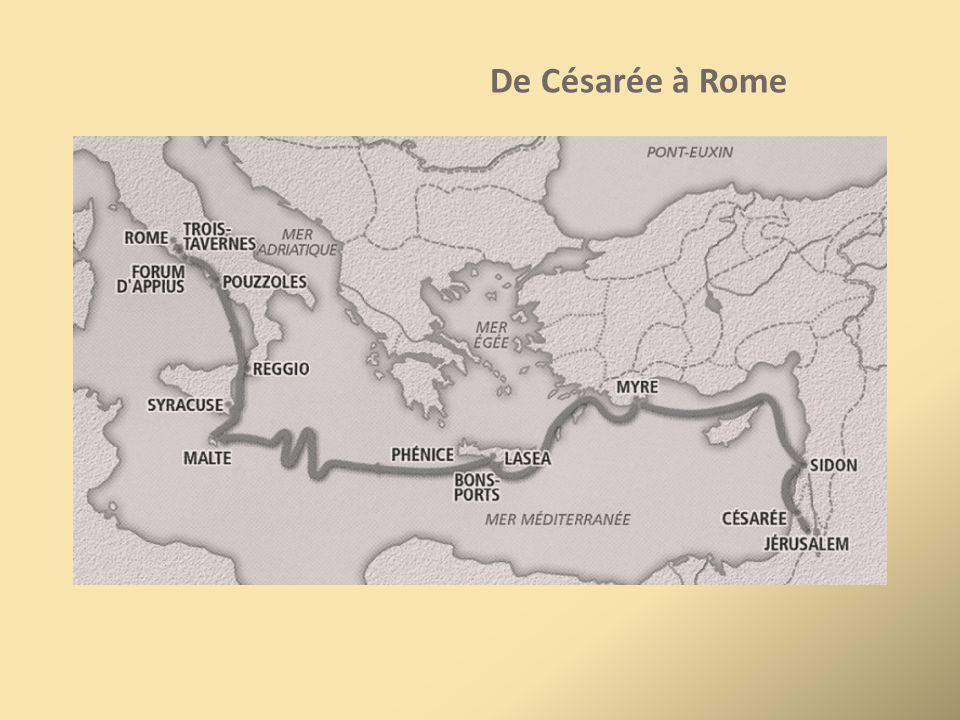 De Césarée à Rome
