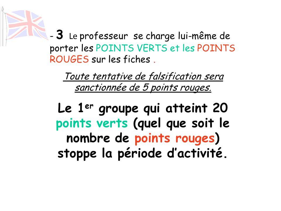 L'ardoise de la parole Sur chaque table est disposée une fiche qui va servir à noter la participation des élèves de la table. Un élève responsable ins