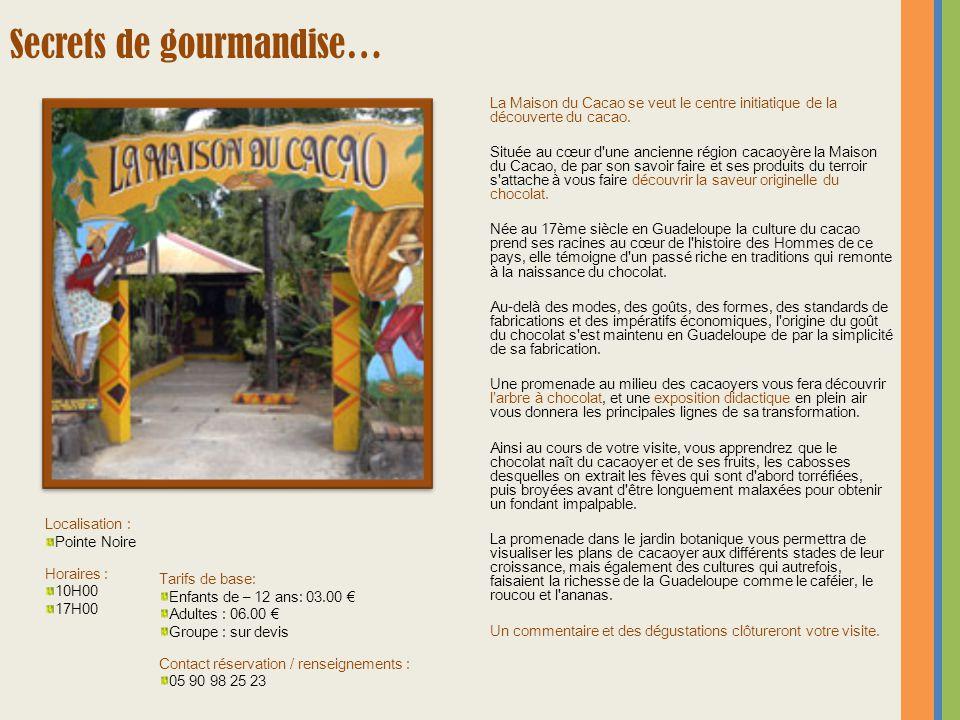 La Maison du Cacao se veut le centre initiatique de la découverte du cacao. Située au cœur d'une ancienne région cacaoyère la Maison du Cacao, de par