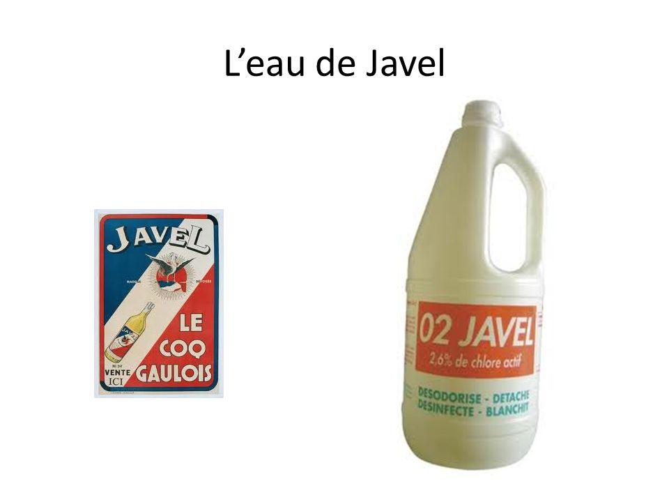 L'eau de Javel