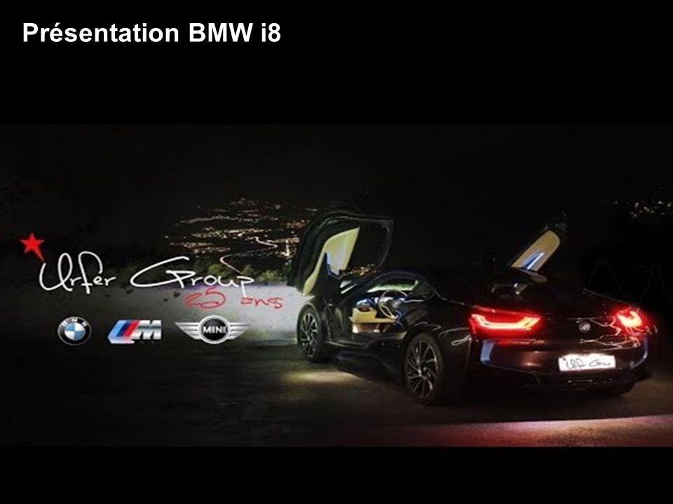 Présentation BMW i8