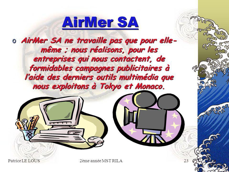Patrice LE LOUS2ème année MST RILA22 AirMer SA La meilleure façon de découvrir une ville : la survoler en hélicoptère bien- sûr !
