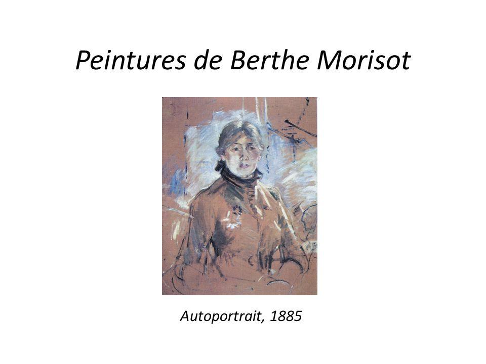 Peintures de Berthe Morisot Autoportrait, 1885