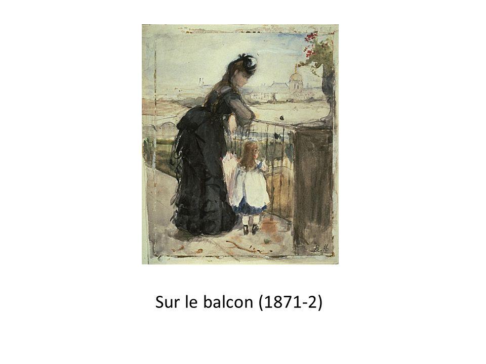 Sur le balcon (1871-2)