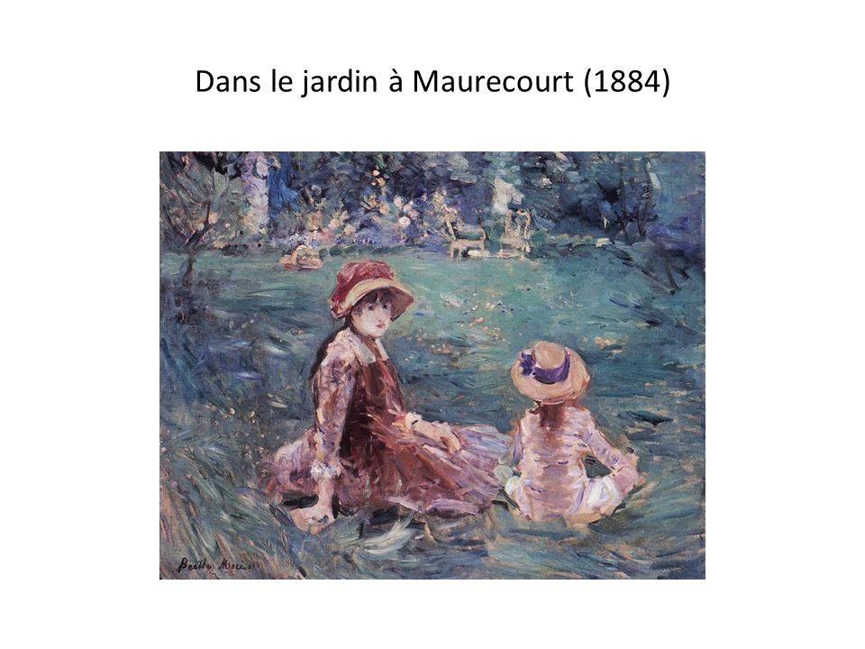 Dans le jardin à Maurecourt (1884)