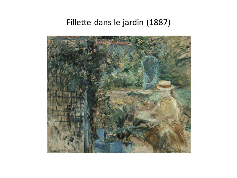 Fillette dans le jardin (1887)