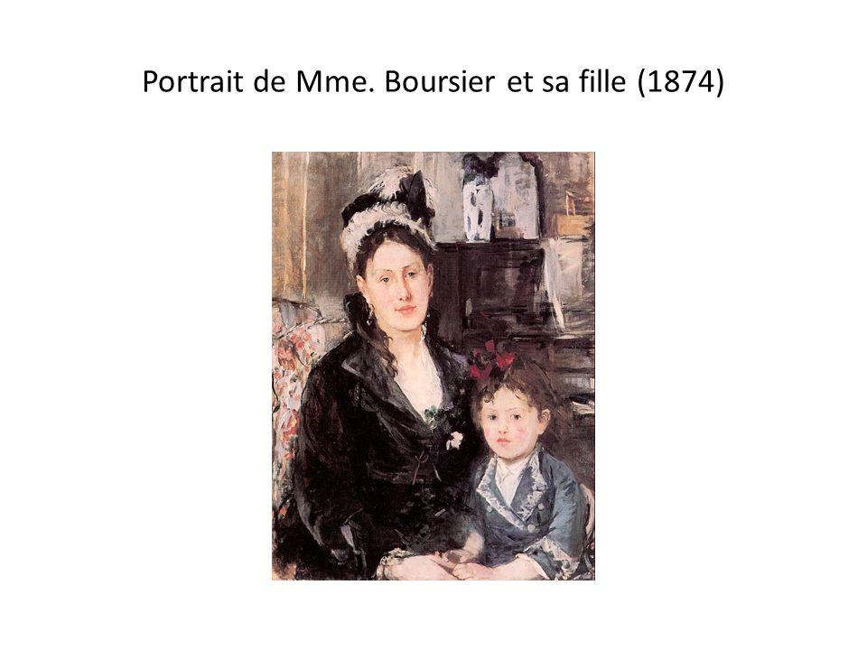 Portrait de Mme. Boursier et sa fille (1874)