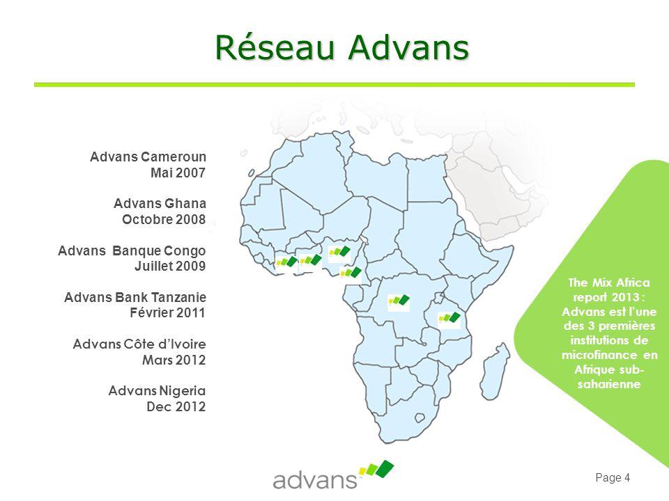 Page 25 Advans Côte d'Ivoire La certification au cœur du Crédit Cacao