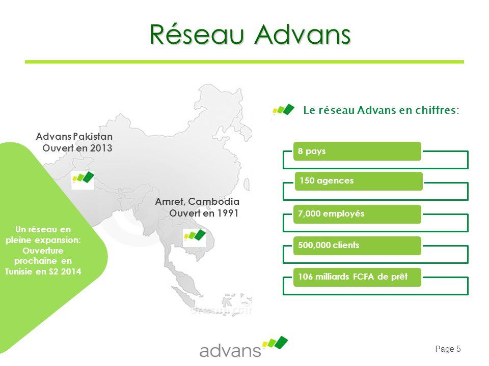 Page 26 A travers sa politique de crédit, Advans Côte d'Ivoire promeut la responsabilité sociale et environnementale : l'accès à un financement est conditionné par le respect des critères sociaux et environnementaux.