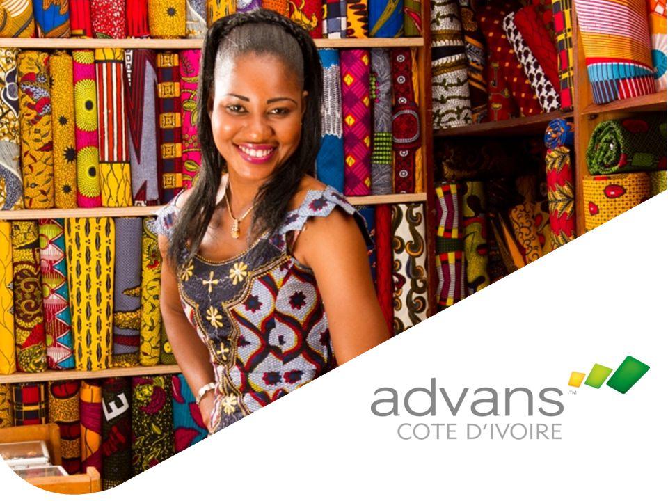 Page 7 Advans Côte d'Ivoire Forte d'un capital de 3,75 milliards FCFA, Advans Côte d'Ivoire est la sixième institution du groupe Advans Advans Côte d'Ivoire s'appuie sur l'expertise et l'expérience d' actionnaires renommés :