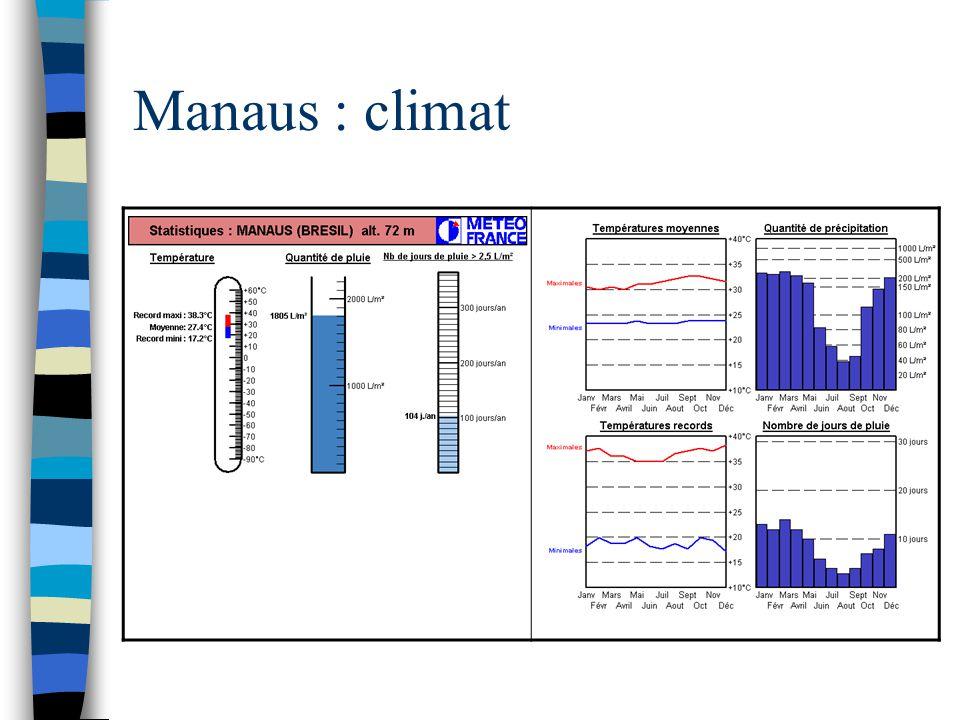 Manaus : climat
