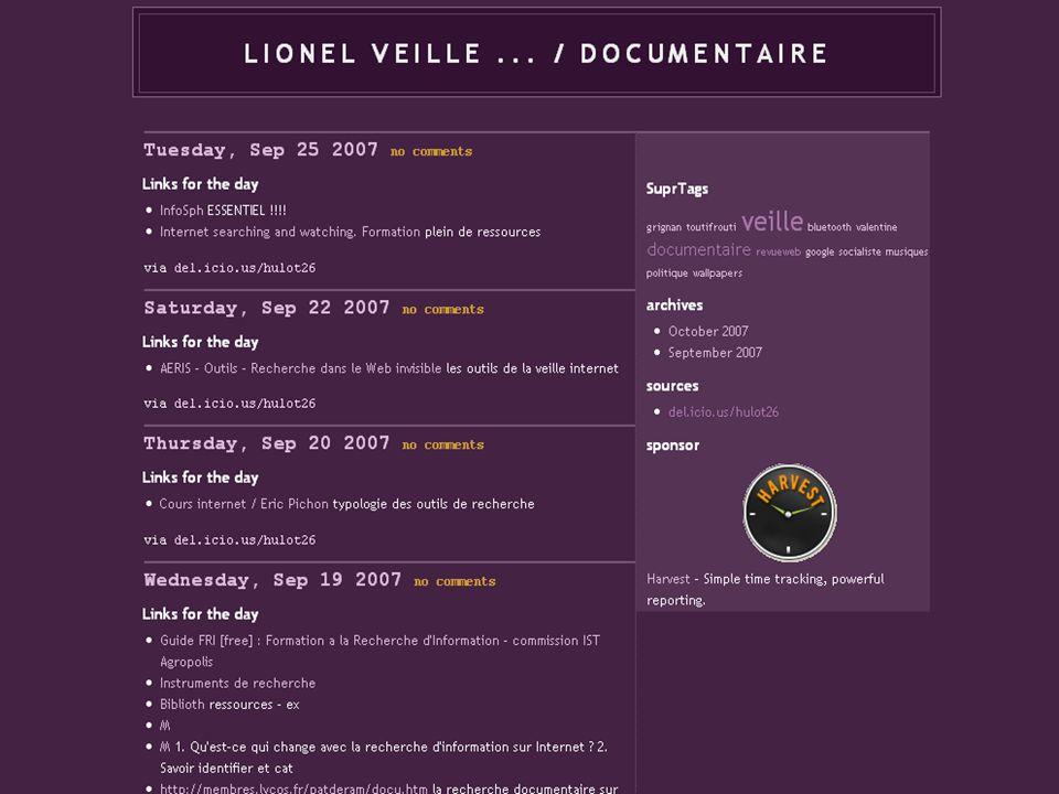 CNFPT - Mediat Rhône Alpes - 2007 http://blogofil.blogspot.com/ http://blogbbf.enssib.fr/ http://ilozen.net/biblioflux/ http://toutifrouti.viabloga.co