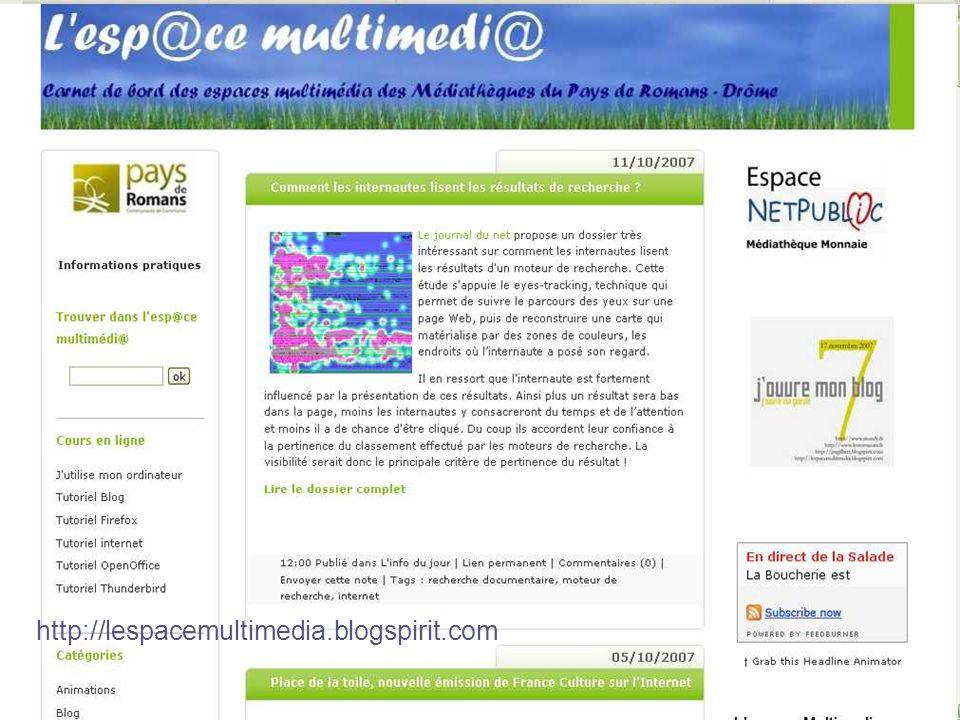 CNFPT - Mediat Rhône Alpes - 2007 http://lespacemultimedia.blogspirit.com