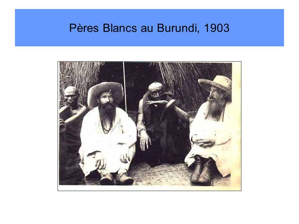 Pères Blancs au Burundi, 1903