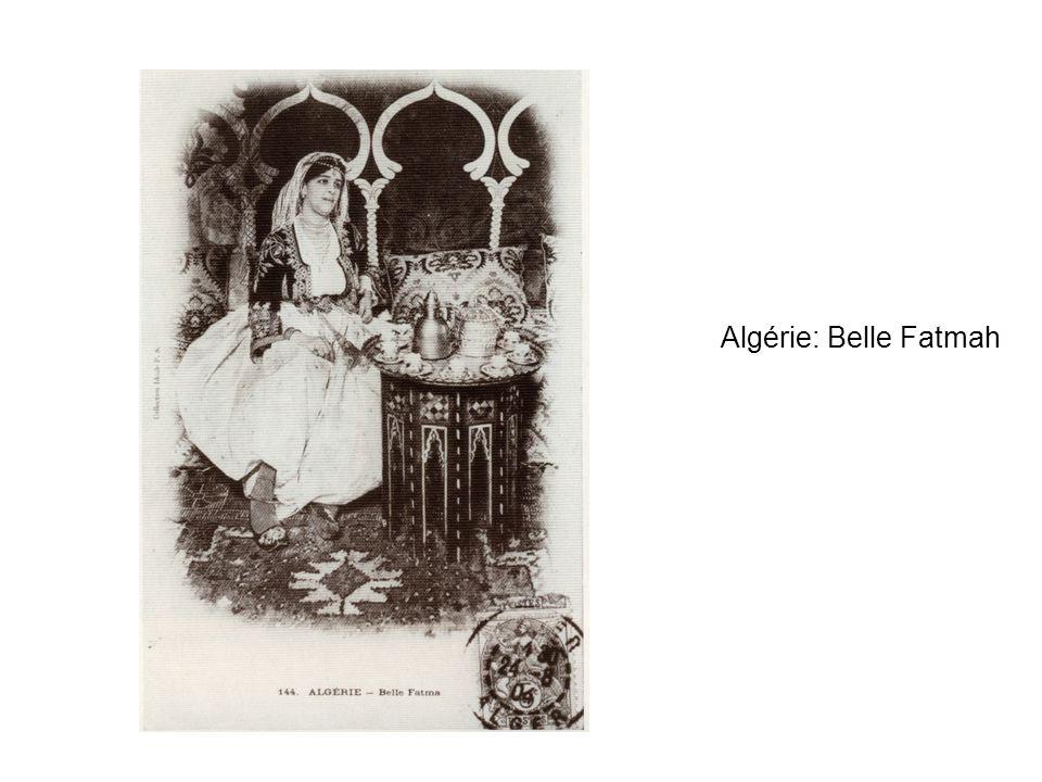 Algérie: Belle Fatmah