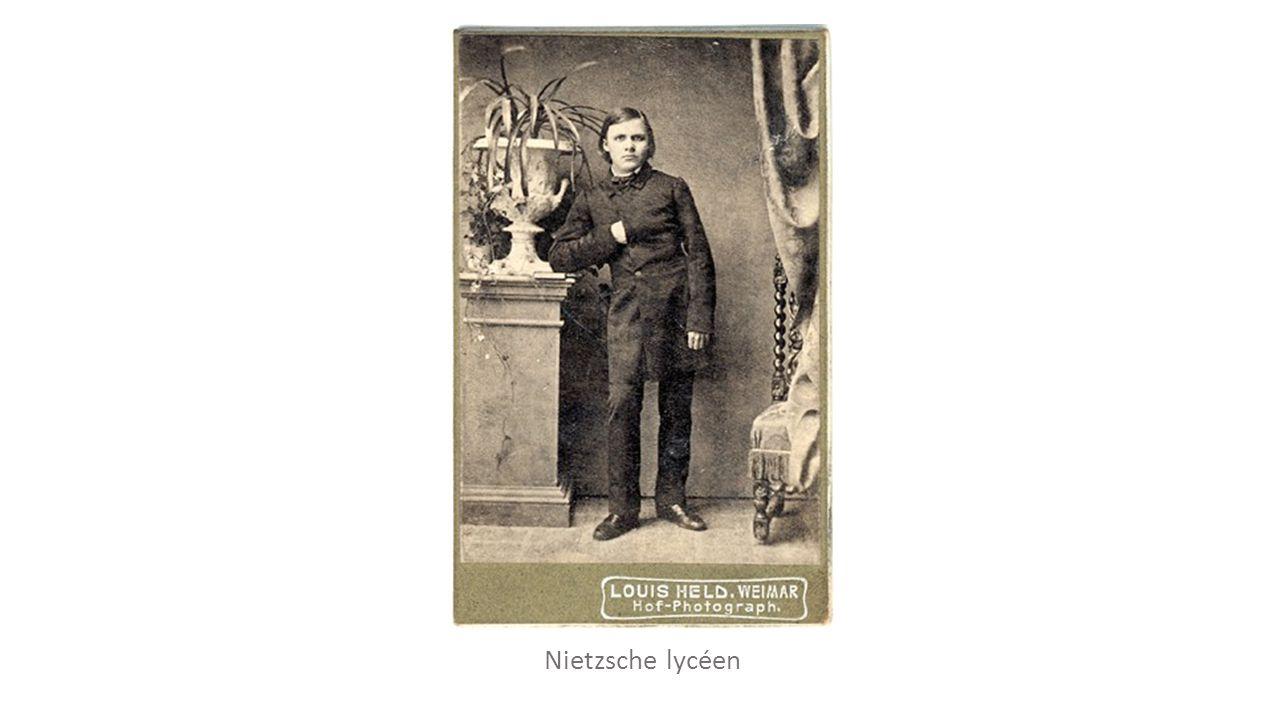 Nietzsche étudiant