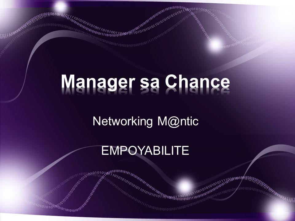 Networking M@ntic EMPOYABILITE