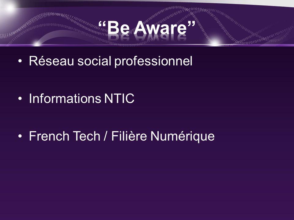 Réseau social professionnel Informations NTIC French Tech / Filière Numérique