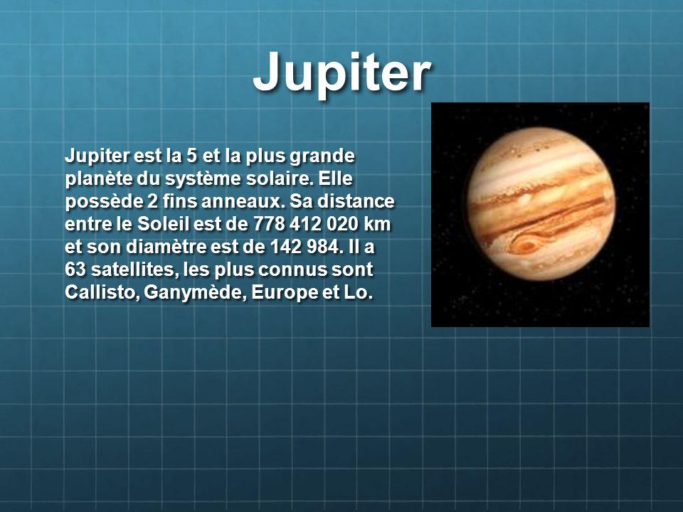 Neptune Neptune est la planète la plus éloignée du Soleil.