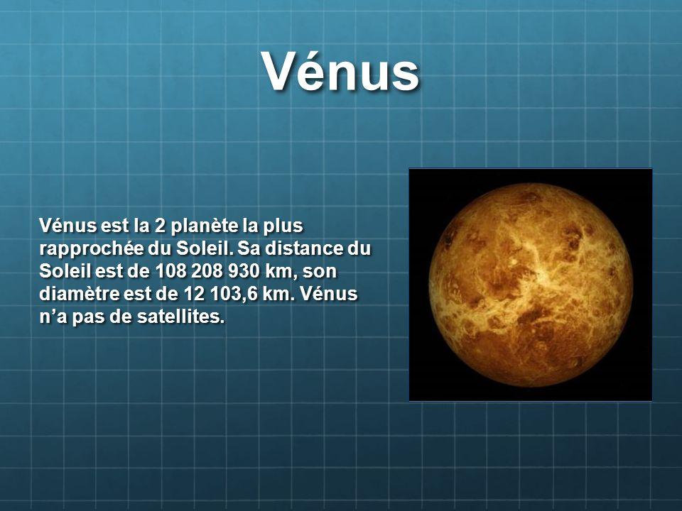 Mars Mars est la 4 planète la plus rapprochée du Soleil.