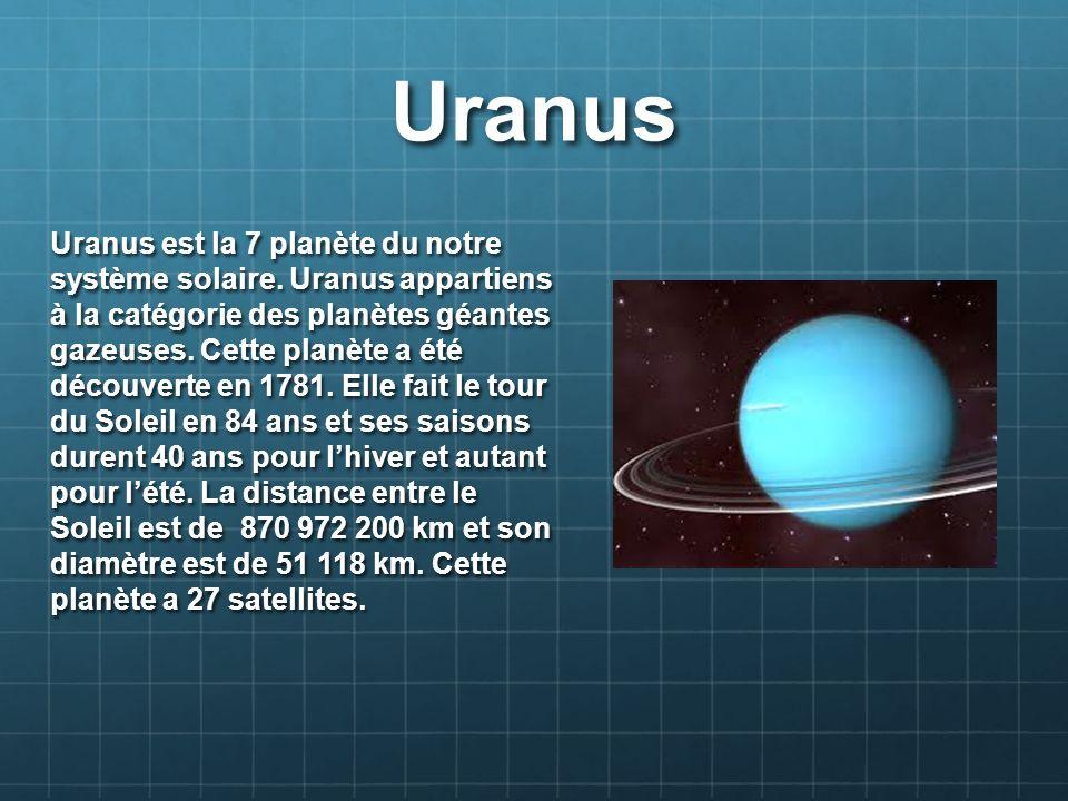Saturne Saturne est la 6 planète du notre système solaire.