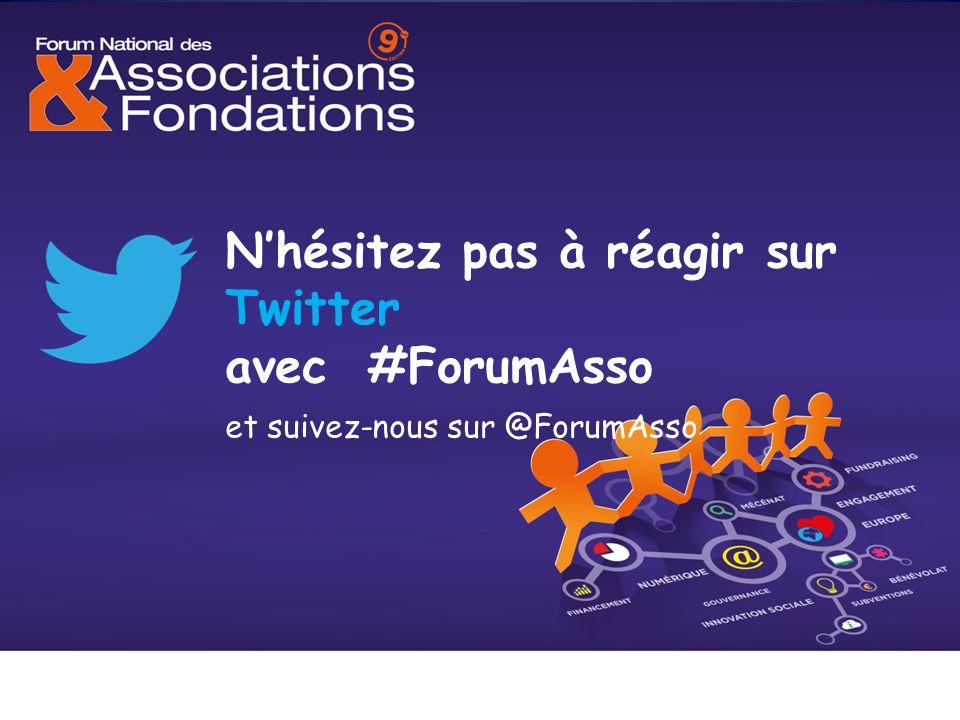 N'hésitez pas à réagir sur Twitter avec #ForumAsso et suivez-nous sur @ForumAsso