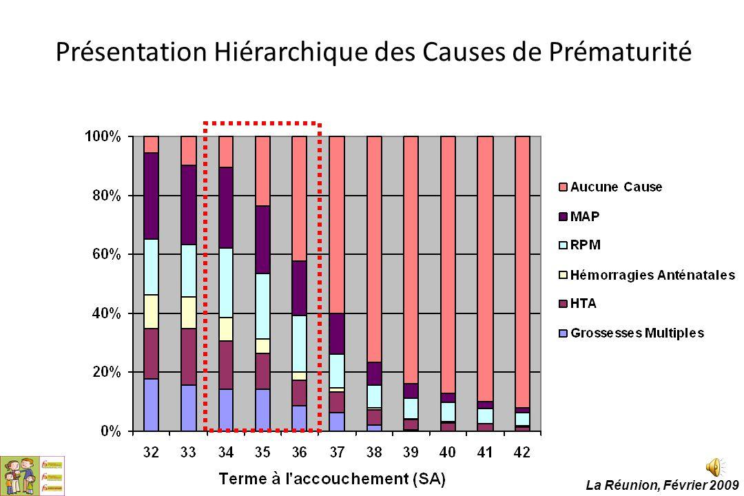 Présentation Hiérarchique des Causes de Prématurité La Réunion, Février 2009