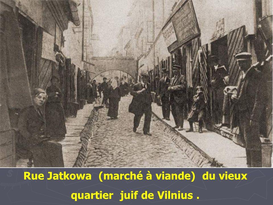 Entrée du quartier juif de Cracovie, 1938
