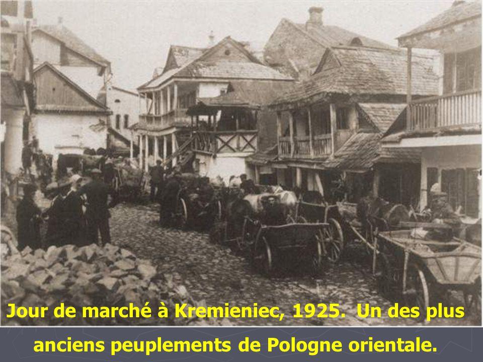 Le quartier juif du vieux Lublin -1938 -