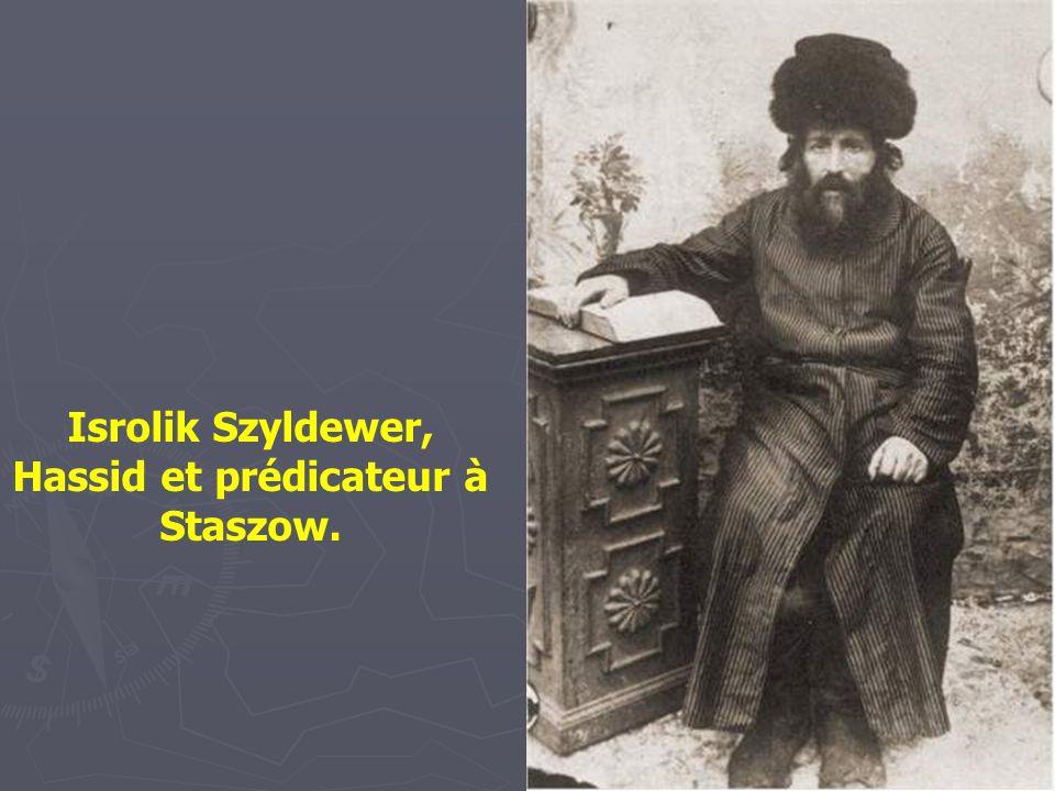 Moyshe Pinczuch, shames (bedaud) de Wysokie Litewskie -1924- pendant 40 ans Le shames occupait de nombreuses fonctions. la principale étant de s'occup