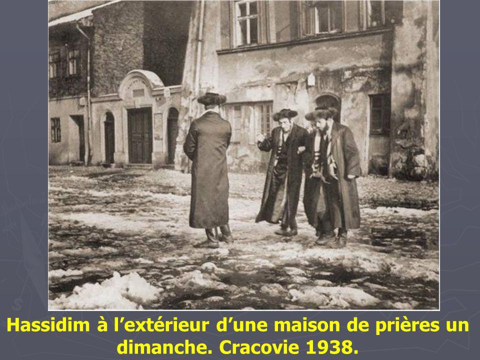 Le rabbin de Ger : Abraham Mordechaï Alter, arrière petit-fils du fondateur d'une des plus célèbres et puissantes dynasties Hassidique de Pologne (d.