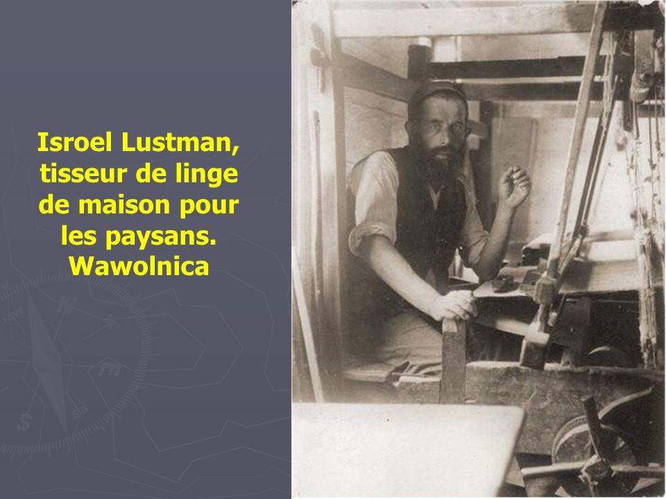 Khone Szlaifer, 85 ans Tout à la fois fabricant de parapluie, rémouleur et pratiquant la médecine populaire Lomza – 1927-