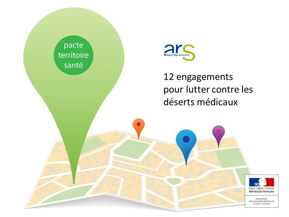 12 engagements pour lutter contre les déserts médicaux