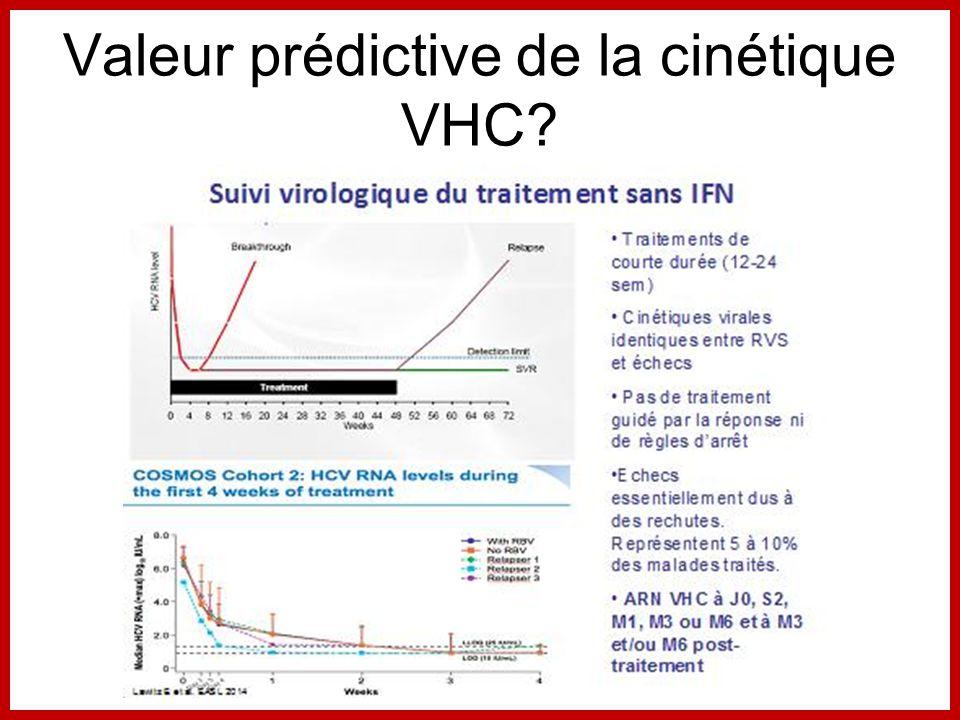 Valeur prédictive de la cinétique VHC?