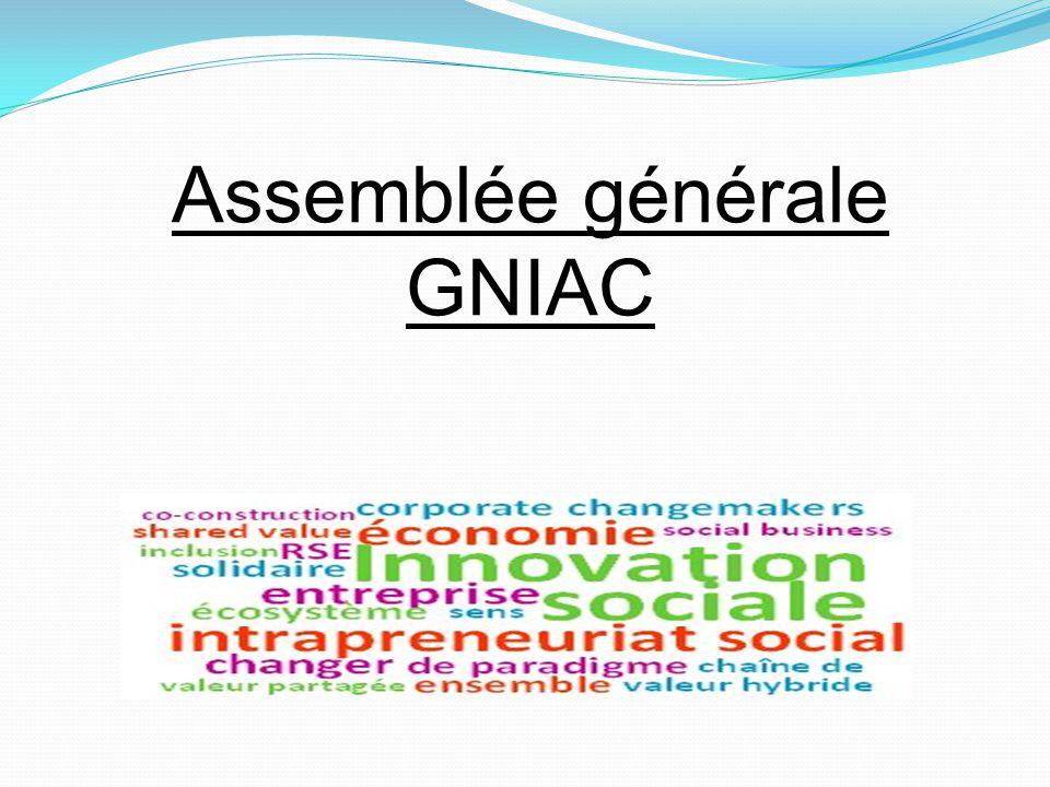 Assemblée générale GNIAC