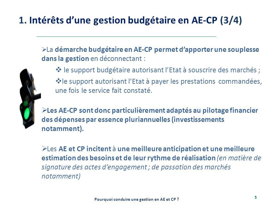 Le passage à une gestion budgétaire en AE-CP nécessite donc un investissement long de la part des services budgétaires et financiers de l'Etat et l'élaboration d'un plan d'accompagnement et de formations des cadres et agents en fonction.