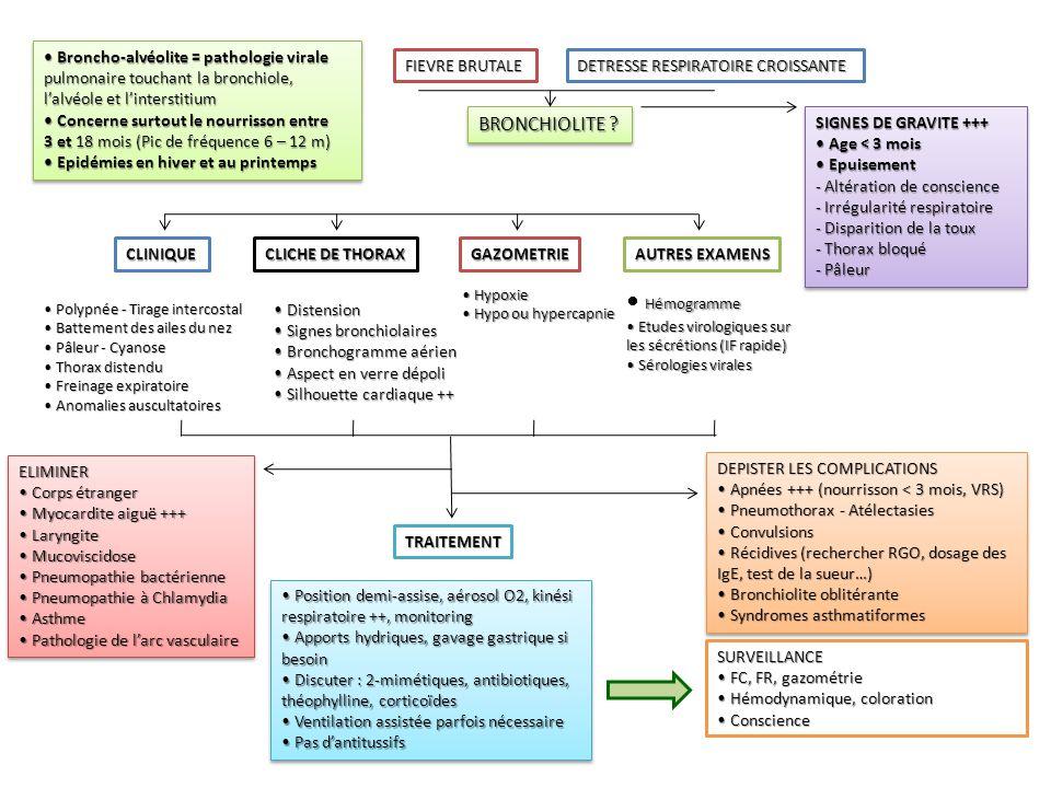 Broncho-alvéolite = pathologie virale Broncho-alvéolite = pathologie virale pulmonaire touchant la bronchiole, l'alvéole et l'interstitium Concerne su