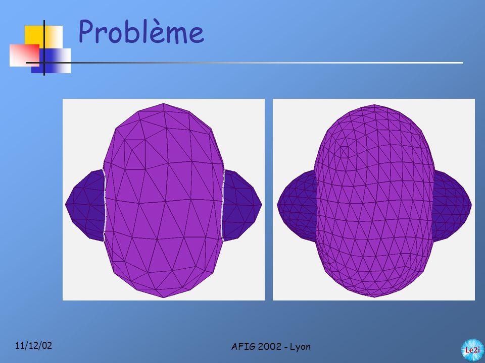 11/12/02 AFIG 2002 - Lyon Algorithme de voisinage 1.