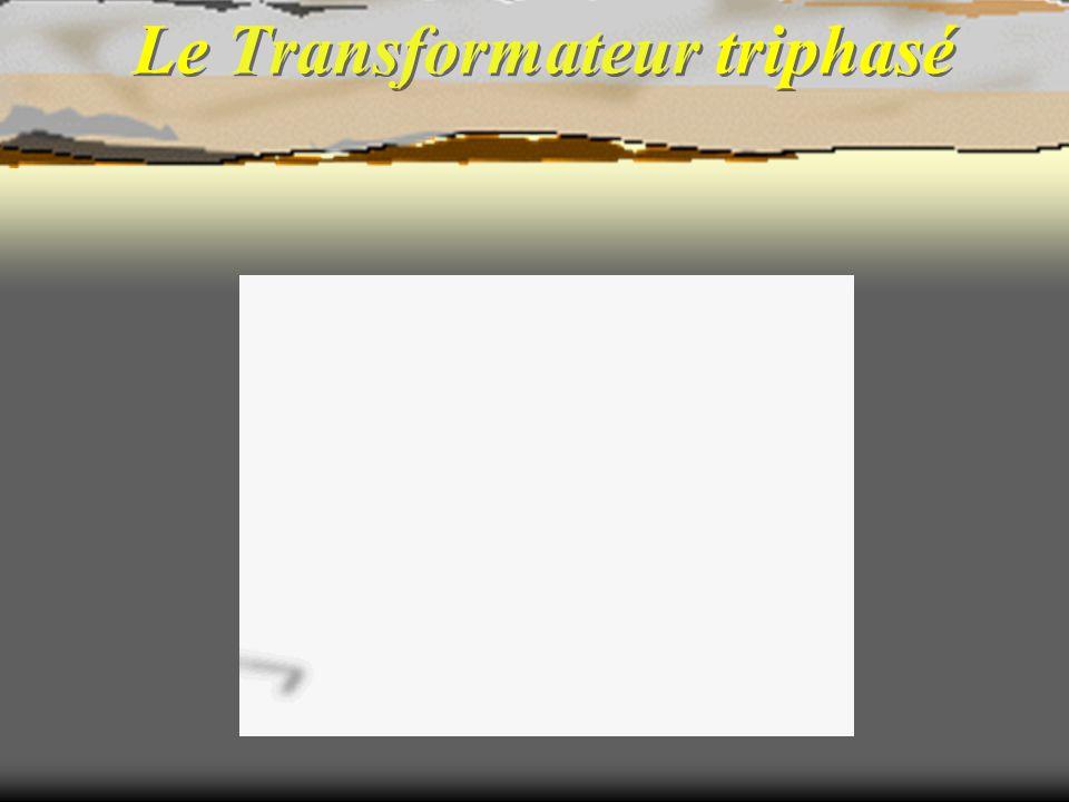 Le transformateur triphasé 1Constitution 2Repérages et notations 3Couplage des transformateurs 4 Rapport de transformation 5 Indice horaire 6 Schéma équivalent, chute de tension en charge