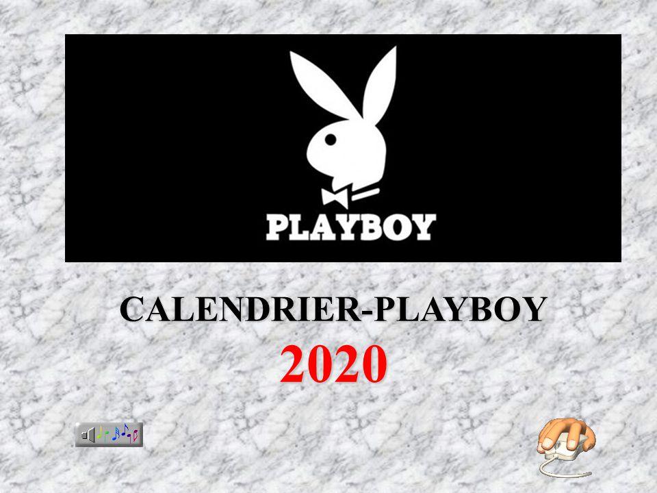 CALENDRIER-PLAYBOY 2020