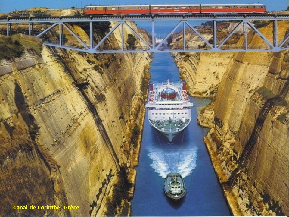 Canal de Corinthe, Grèce