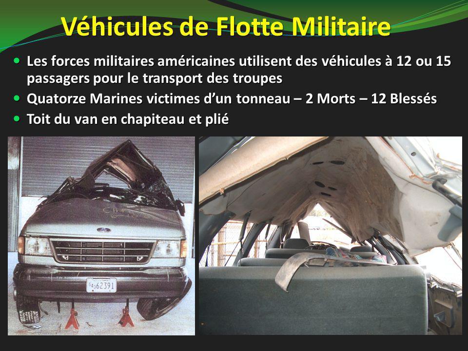 Véhicules de Flotte Militaire Les forces militaires américaines utilisent des véhicules à 12 ou 15 passagers pour le transport des troupes Les forces