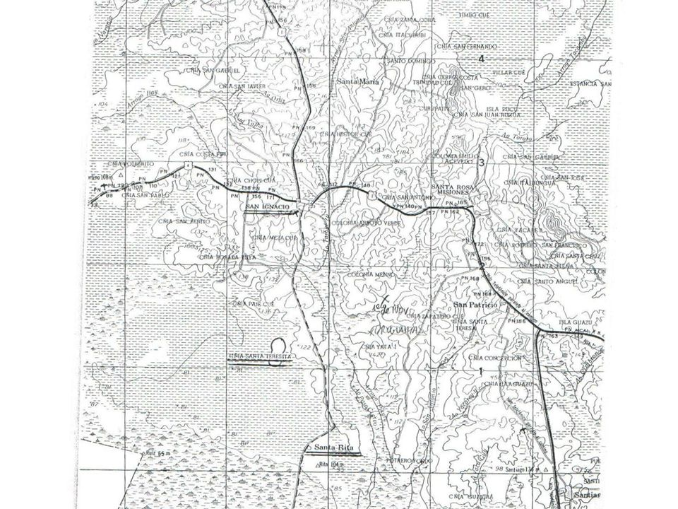 Arrendatarios de tierras del estado de San Ignacio ANA NE 2244, 1862 Carlos Antonio Arasaye 1 cuerda de frente 3 de fondo, tierra firme util Rosario Ixibetu1 id de frente 2 de fondo, id.