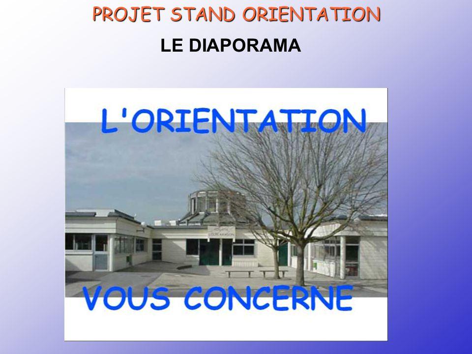 CRTec Chelles PROJET STAND ORIENTATION LE DIAPORAMA