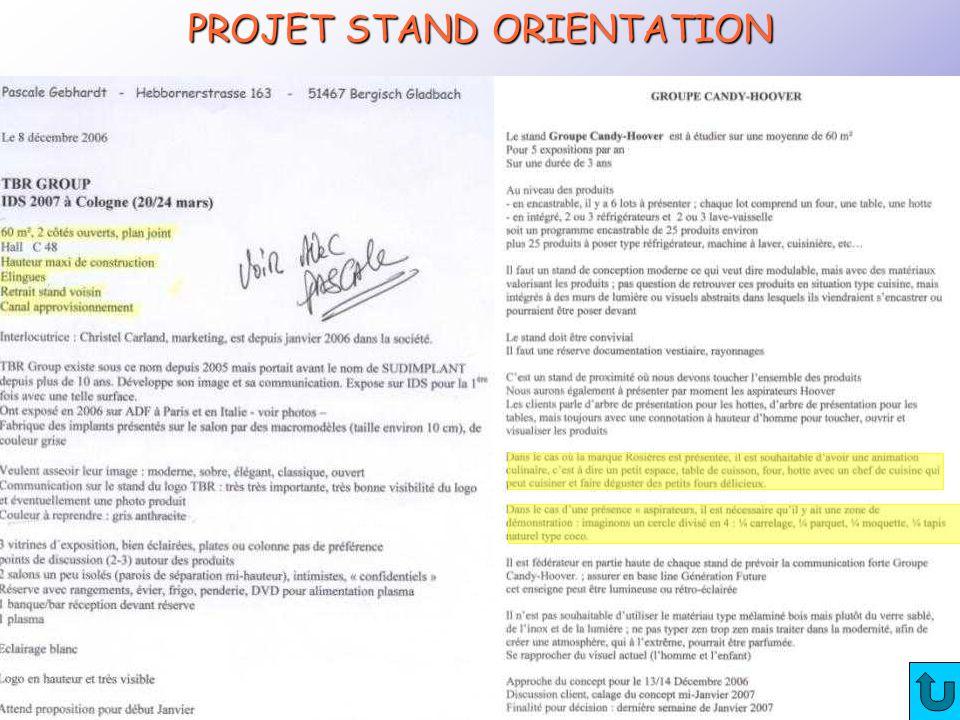 CRTec Chelles PROJET STAND ORIENTATION