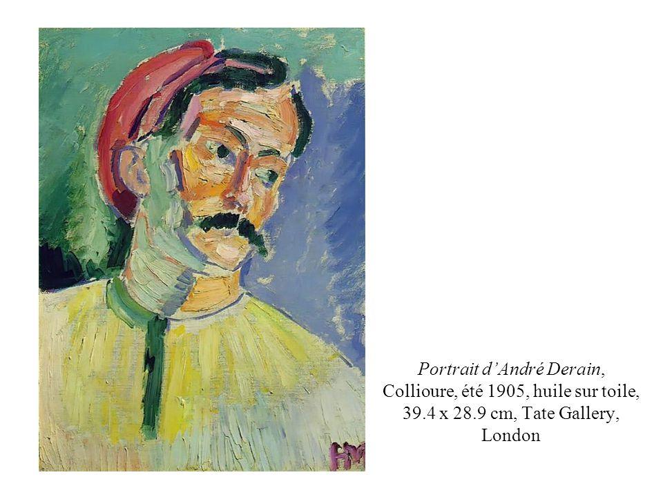 Henri Matisse. La Moulade à Collioure, 1905, huile sur toile, 28,2 X 35,5 cm., coll. Part.
